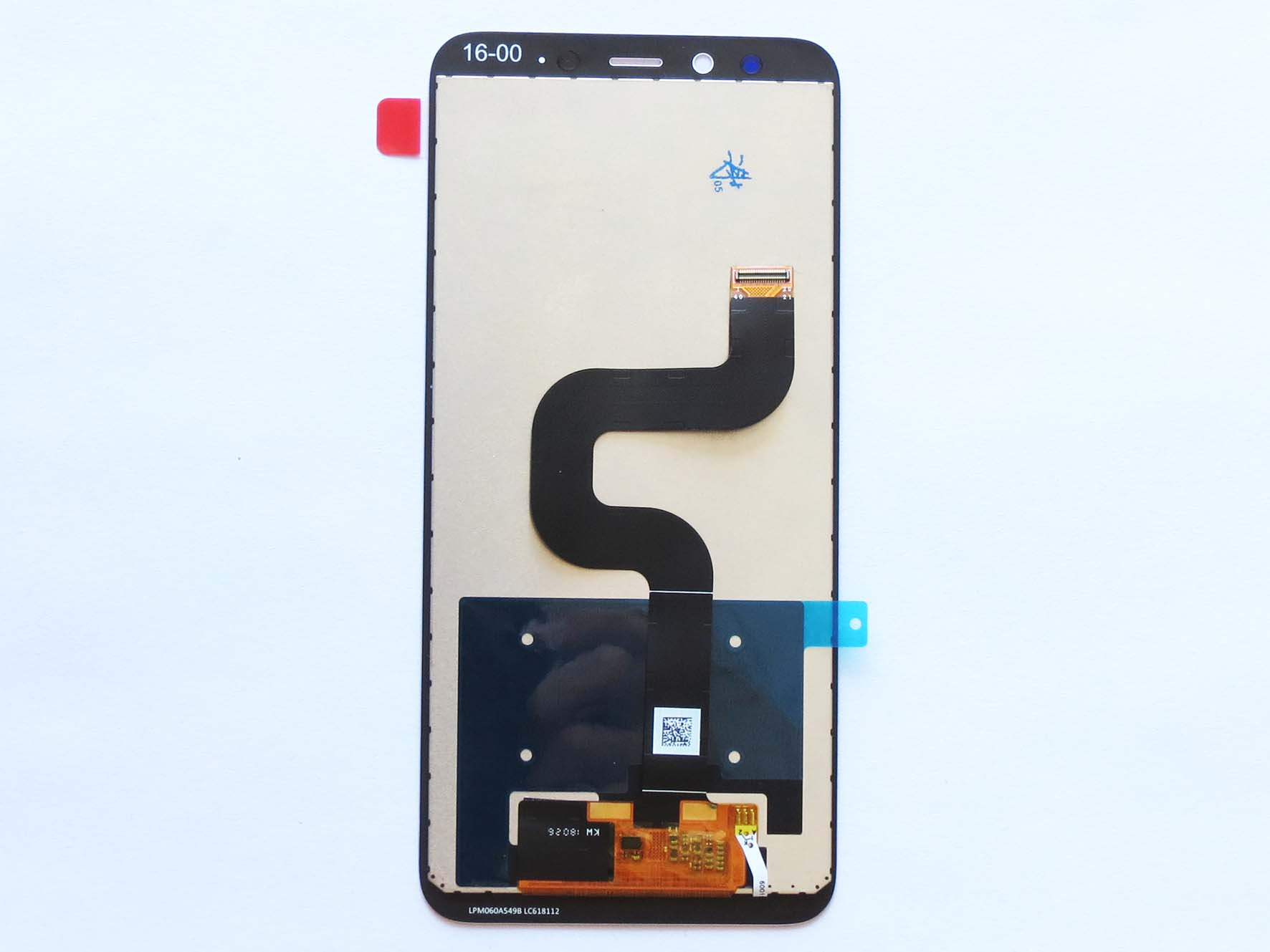 Original LCD Screen and Touch Screen Assembly for Xiaomi 6x Mi A2-Black & White